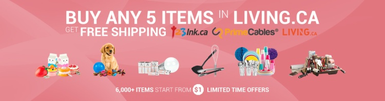 Free shipping for living.ca
