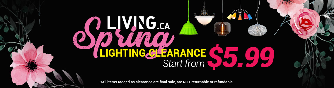 Living.ca lighting clearance