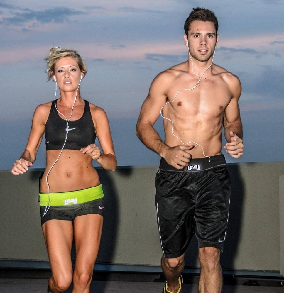 running workout belt from living.ca