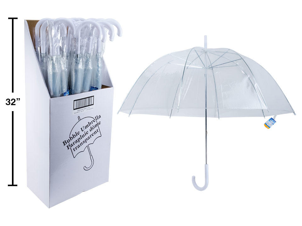 Buy the cheapest transparent umbrella deal online!