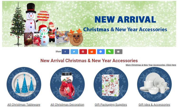 Christmas & New Year Accessories