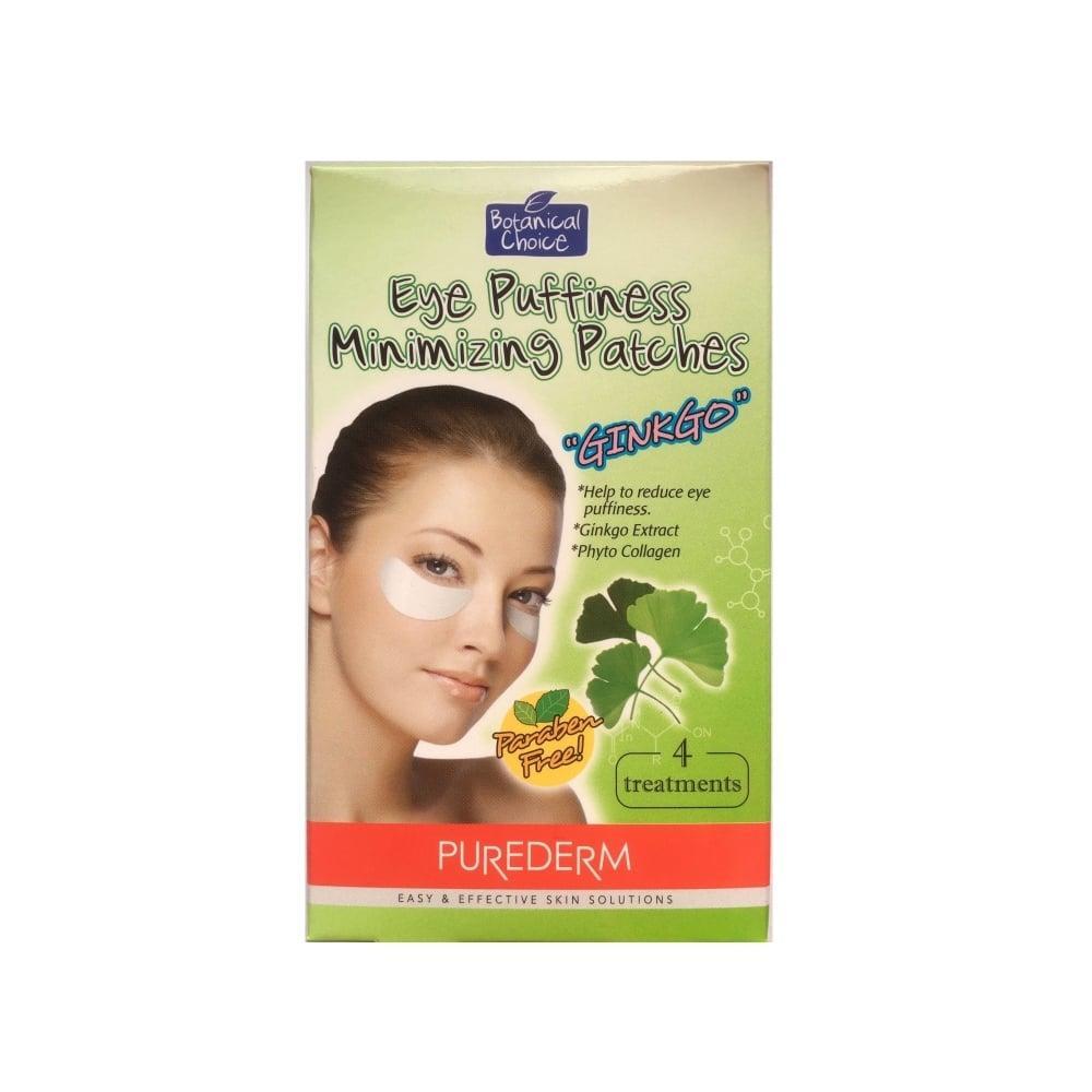 799ee-Purederm-LVK-Pure-6591-Ginkgo-C12-1-Mask-Purederm-Eye-Puffiness-Mini-Patch-Ginkgo-4-Treaments-1Box