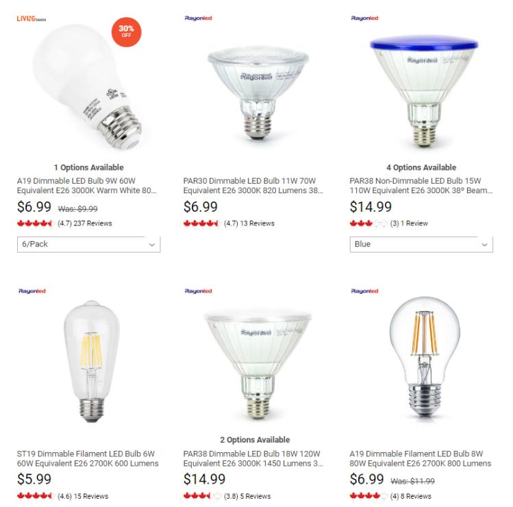 buy light bulb in canda