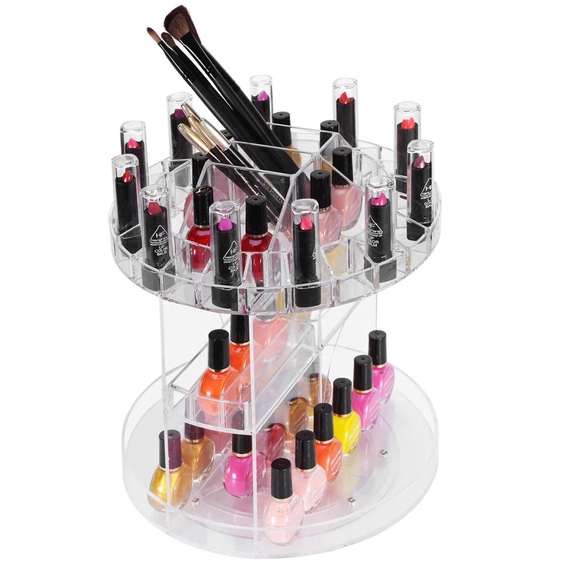 Acrylic make up box