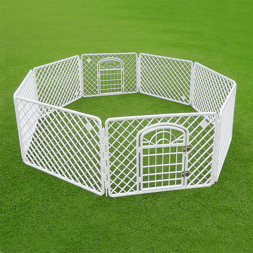 medium_plus_9831b-GZA-00430-pack-Pet-Accessories-Indoor-Outdoor-Plastic-Pet-Pen-8-Panels-White