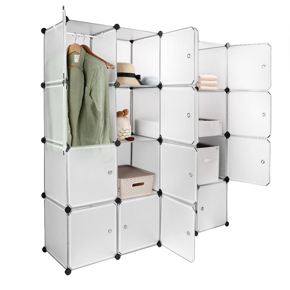 Modular Shelving Storage Organizer Cube Unit